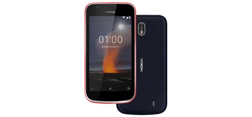 HMD Global presenta el Nokia 1, de los primeros con Android 8.1 (Go Edition)