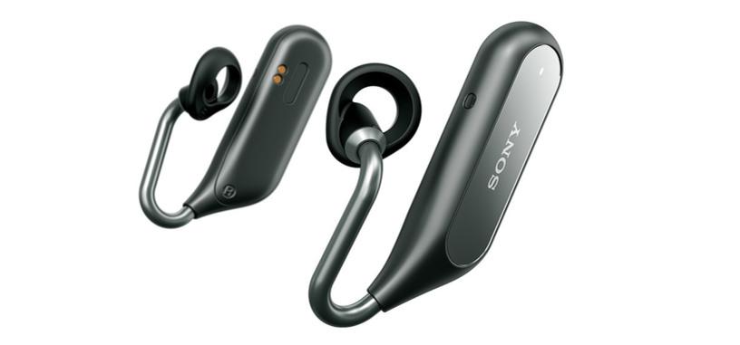 Sony presenta los auriculares de botón Xperia Ear Duo