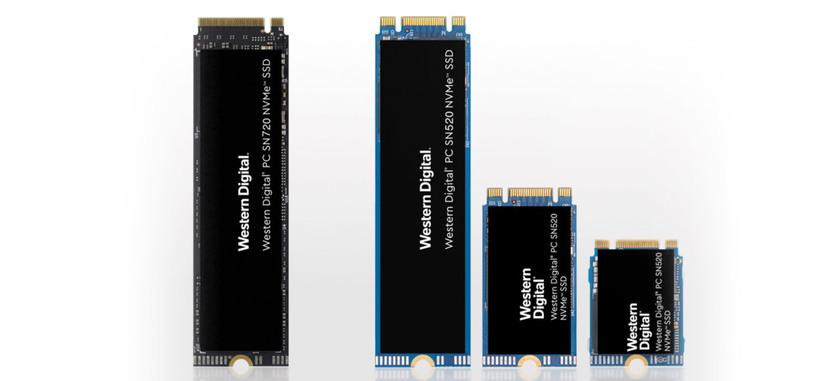 Western Digital anuncia nuevos SSD de tipo PCIe para el internet de las cosas y computación