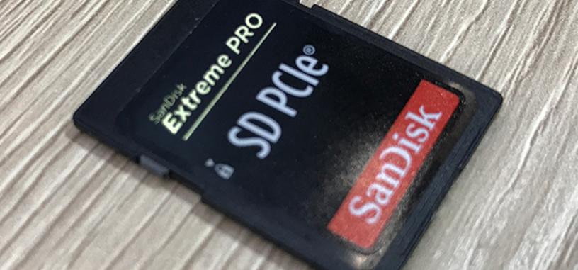 SanDisk muestra su tarjeta SD con una interfaz PCIe ×1 y hasta 880 MB/s