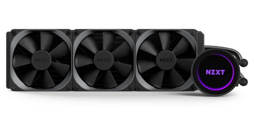 NZXT presenta las nuevas refrigeraciones líquidas Kraken M22 y Kraken X72
