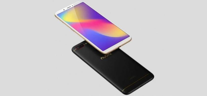 ZTE anuncia el Nubia N3 con pantalla de 5.99'', Snapdragon 625 y 5000 mAh