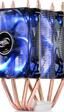 DeepCool presenta le refrigeración compacta Frostwin LED de doble ventilador