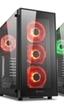 Sharkoon anuncia la caja TG5 RGB con cuatro ventiladores RGB y paneles de cristal