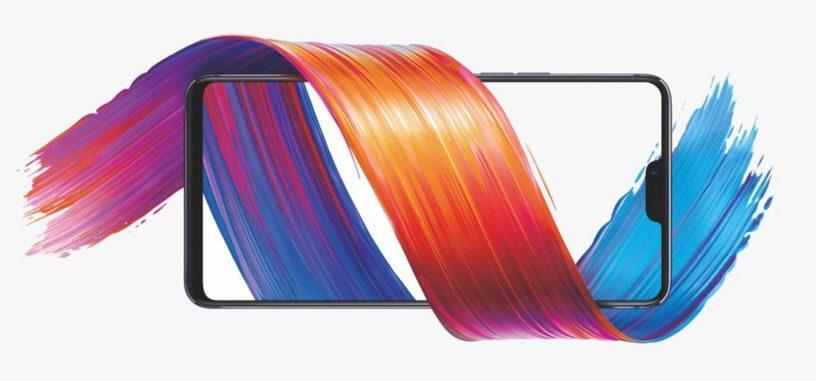 OPPO presenta el R15, con pantalla de 6.3'' OLED con muesca, y Helio P60