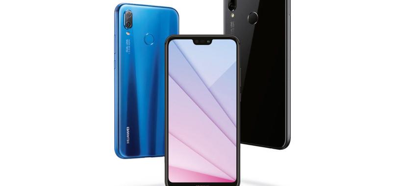 Huawei presenta el P20 Lite, pantalla con muesca, Kirin 659 y cámara dual trasera