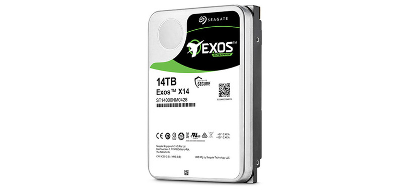 Seagate presenta el disco duro Exos X14 de 14 TB relleno de helio