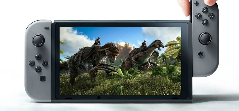 'ARK: Survival Evolved' va a llegar a la Switch