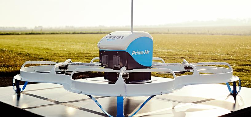 Amazon obtiene la patente de un dron que responde ante los gestos de una persona