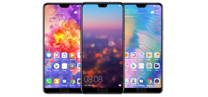 Huawei presenta los P20 y P20 Pro, pantalla con muesca y triple cámara trasera