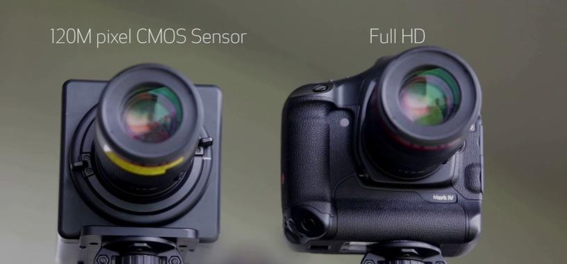 Canon muestra en acción su cámara de 120 megapíxeles