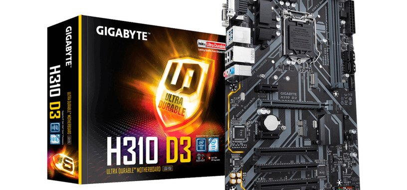 Gigabyte anuncia 31 placas base con chipsets H310, B360 y H370