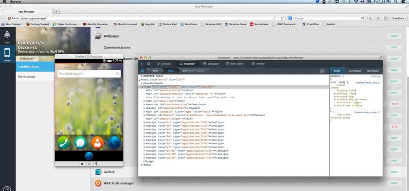 Mozilla añade App Manager a su navegador para mejorar el desarrollo en Firefox OS