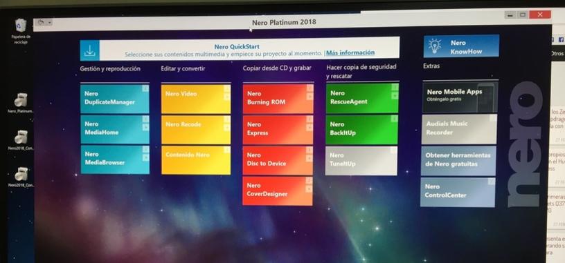 Análisis: Nero Platinum 2018