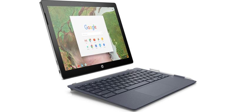 El Chromebook x2 de HP es la segunda tableta que llega con Chrome OS