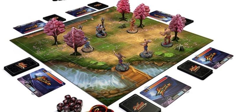 El juego de tablero basado en Street Fighter supera su financiación en Kickstarter