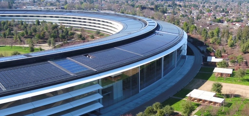 Apple ya usa energía renovable para hacer funcionar el 100 % de sus instalaciones