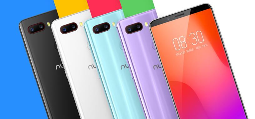 ZTE anuncia el Nubia Z18 Mini con un Snapdragon 660, 6 GB de RAM, cámara dual trasera