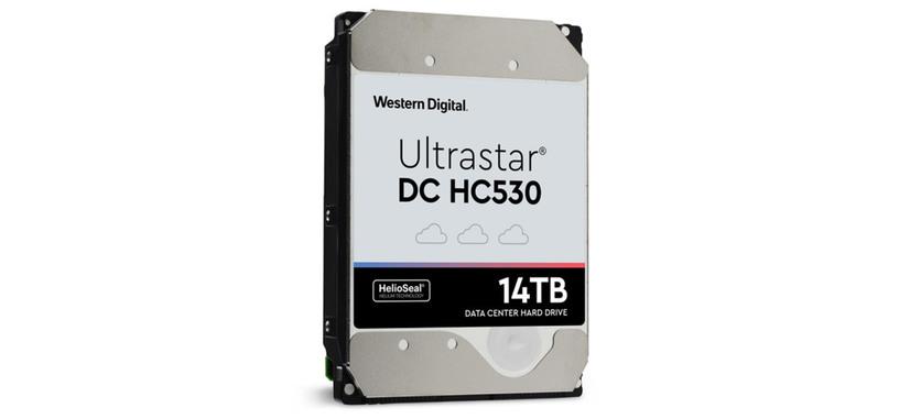 Western Digital presenta el Ultrastar DC HC530 de 14 TB