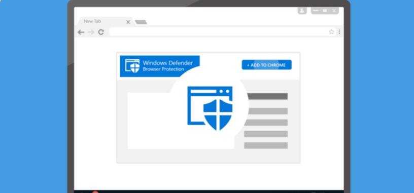 Microsoft lanza una extensión para Chrome que dota al navegador de la protección de Windows Defender