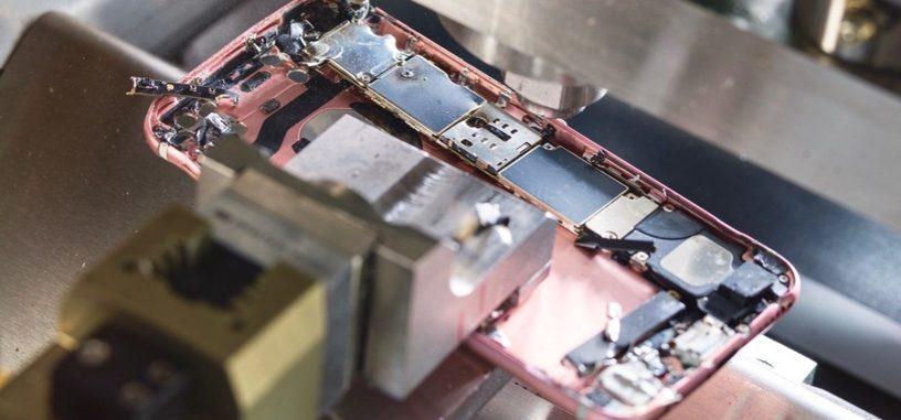 Apple enseña a Daisy, su nuevo robot para despiezar los iPhone para reciclar
