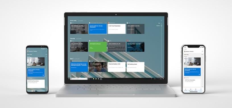Microsoft lleva la Línea de Tiempo de Windows 10 a los móviles