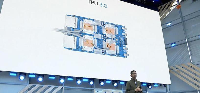 Google muestra su TPU 3.0, y ahora requiere de refrigeración líquida