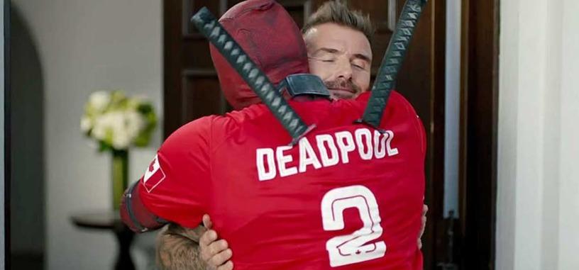 Deadpool se disculpa en este vídeo con David Beckham por burlarse de él en la primera película