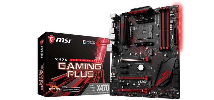 MSI distribuye las actualizaciones de BIOS para placas base AM4