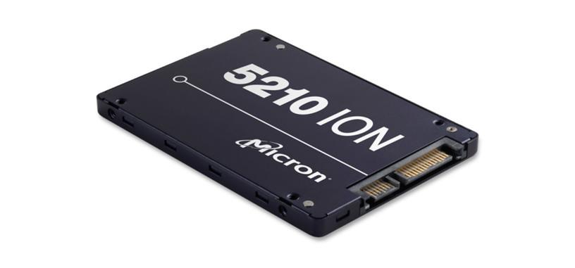 Micron presenta la serie 5210 ION de SSD con memoria QLC