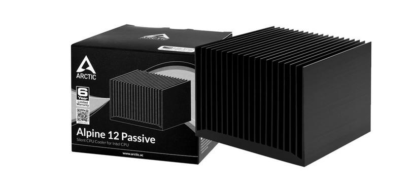 ARCTIC anuncia la refrigeración pasiva Alpine 12