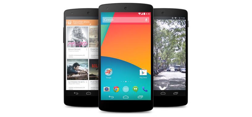 Google distribuye Android 4.4.4 para los Nexus, corrige un fallo de seguridad de OpenSSL