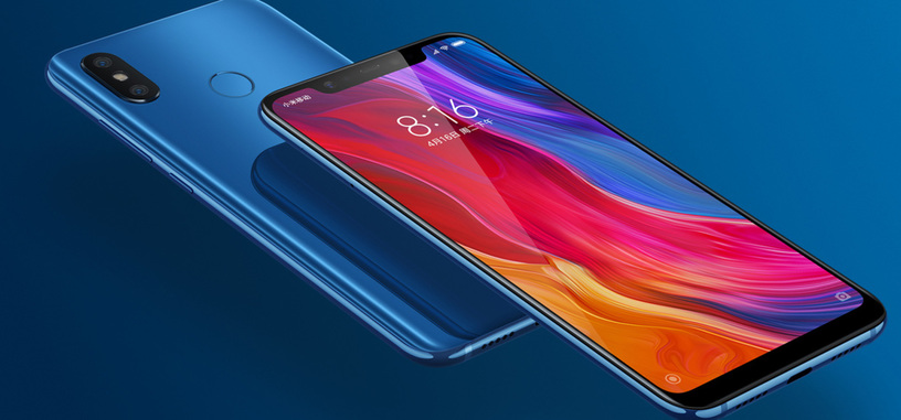 El teléfono insignia de Xiaomi de 2018, el Mi 8, ya disponible en España por 499 euros