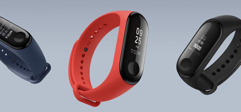 Xiaomi renueva su pulsera de actividad con la Mi Band 3