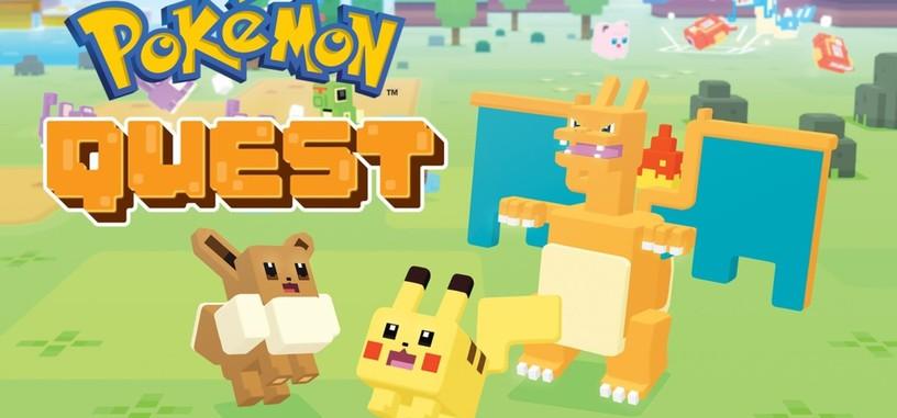 'Pokémon Quest' ya está disponible para iOS y Android