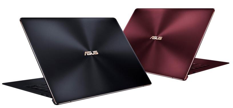 ASUS pone a la venta el ultraportátil ZenBook S (UX391) de solo 1 kg