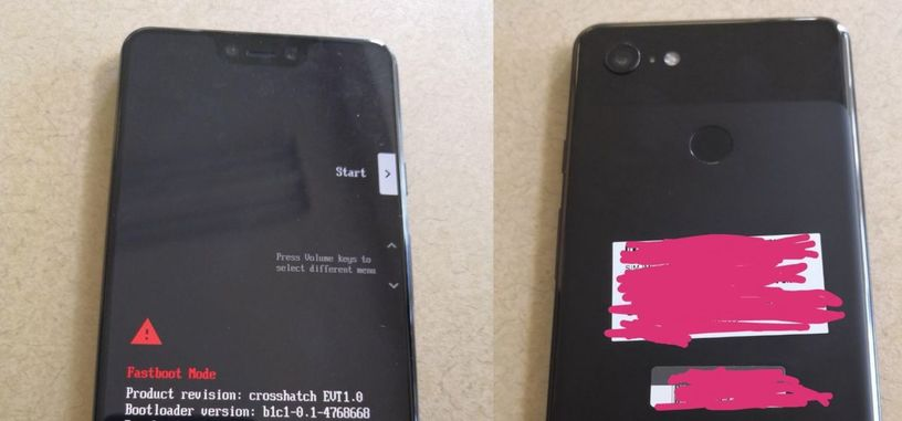 Estas supuestas imágenes del Pixel 3 XL muestran su aspecto [act.]