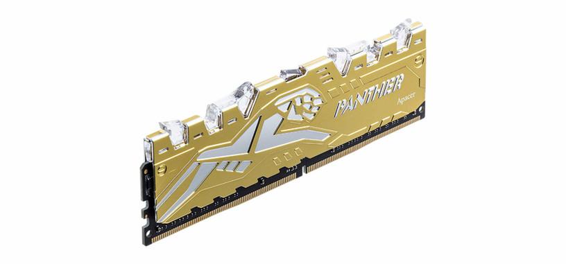 Apacer anuncia los módulos Panther Rage RGB de memoria DDR4