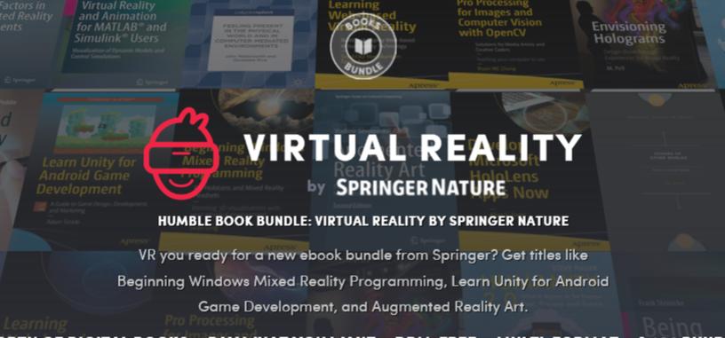 Humble Bundle lanza un nuevo lote de libros sobre realidad virtual
