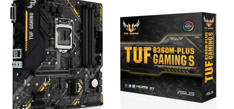 ASUS presenta la placa base TUF B360M-Plus Gaming S
