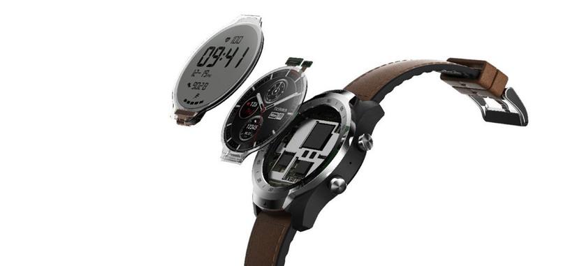 Mobvoi anuncia el Ticwatch Pro, reloj Wear OS con doble pantalla