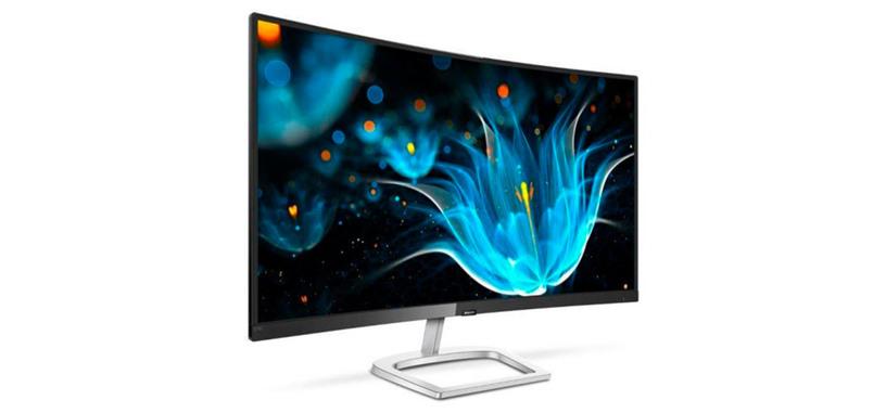 Philips presenta el monitor curvo 278E9 con panel de 27 pulgadas tipo VA curvo