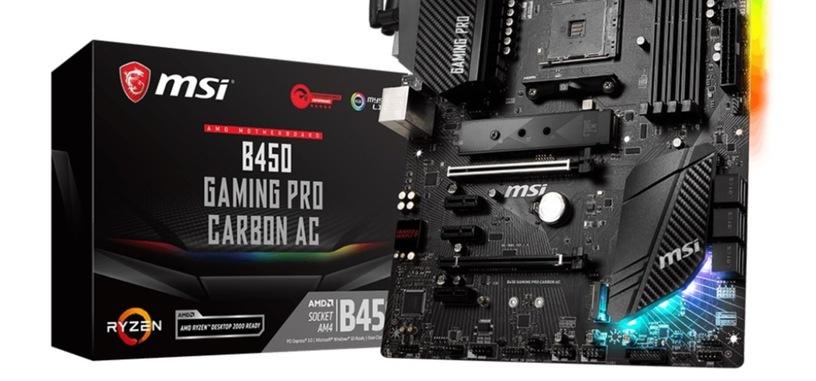 MSI promete hacer compatibles con los Ryzen 5000 todas las placas base serie 400