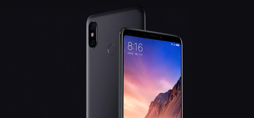 Xiaomi va a lo grande con la pantalla de 6.9 pulgadas del Mi Max 3 y su batería de 5500 mAh