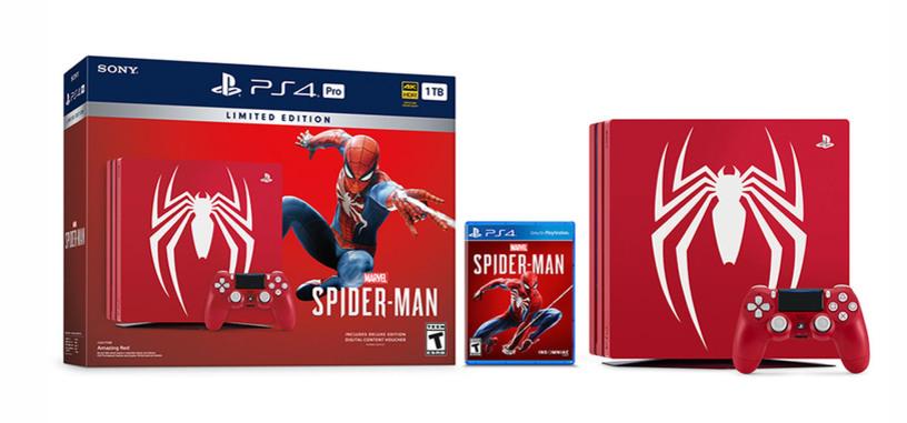 Sony crea una edición limitada de 'Spider-Man' de la PlayStation 4