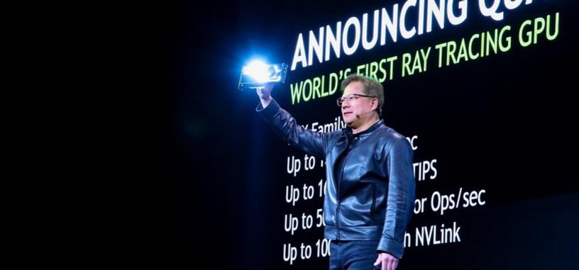 Nvidia anuncia la arquitectura Turing de sus nuevas GPU: más trazado de rayos, GDDR6 y más