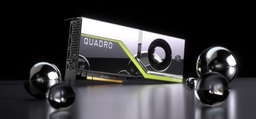 Nvidia anuncia las tres primeras Quadro RTX que usan la nueva GPU Turing