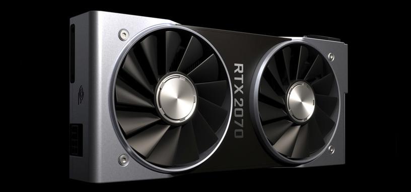 Nvidia pondrá a la venta la GeForce RTX 2070 el 17 de octubre