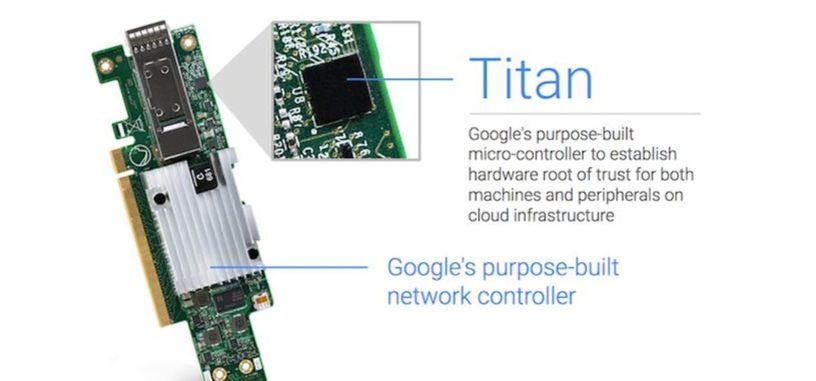 Google detalla Titan, su chip de seguridad para la nube