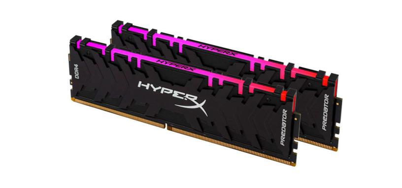 HyperX presenta nuevos módulos Predator de memoria DDR4
